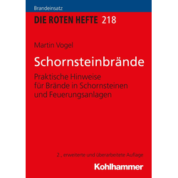 Schornsteinbrände als Buch von Martin Vogel