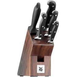 WMF Messer-Set (Set, 6-tlg), mit Walnussholz-Block