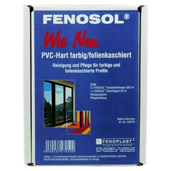FENOPLAST Fenosol WIE NEU PVC-Hart farbig/folienkaschiert Fensterpflegeset