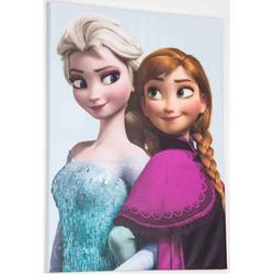 Disney Leinwandbild Frozen Elsa & Anna, (1 Stück)