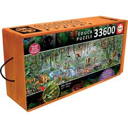 Educa Puzzle Wild Life, 33600 Puzzleteile