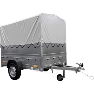 Pkw-Anhänger GARDEN TRAILER 230 KIPP mit Stützrad, zusätzlichen Bordwänden, Hochplane und Hochspriegel H800