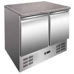 GGG Kühltisch mit Granitplatte 900x700x870 mm 257 L  201 L 155 W 2 Türen SG901.01