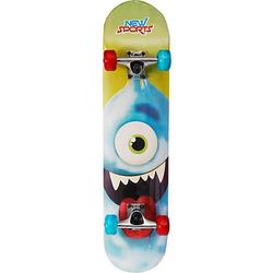 Skateboard Cyclops, LED Räder, 78 cm bunt