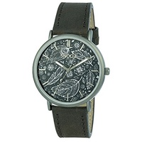 Snooz Herren Analog Quarz Uhr mit Leder Armband Saa1041-75