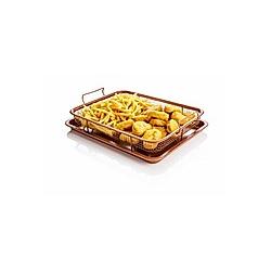 Copper Crisper - Grillkorb für den Backofen  2-tlg.