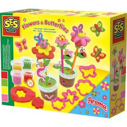 SES Creative Knete Knete - Duftende Blumen und Schmetterlinge