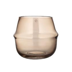 Ernst Kirchsteiger Windlicht Glas Bernstein 15 cm