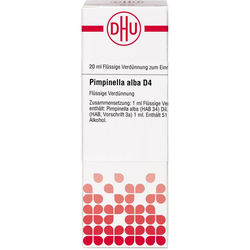 PIMPINELLA ALBA D 4 Dilution 20 ml