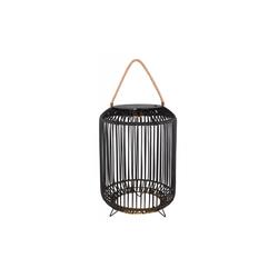 Globo Lighting LED-Solarleuchte Laterne in schwarz, 47 cm