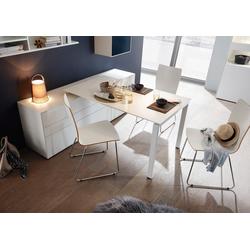 now! by hülsta Schreibtisch now! easy, Tisch zum Auflegen auf Kommoden der Serie now! easy 80 cm x 73,2 cm x 123 cm