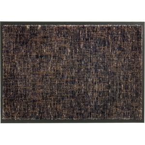 Schöner Wohnen Fußmatte Miami Design 003, Farbe 044 Gitter anthrazit-taupe 50 x 70 cm