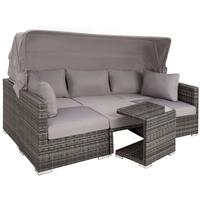 TecTake San Marino Polyrattan Lounge-Set