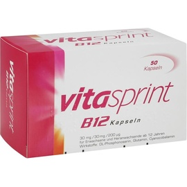 Pfizer Vitasprint B12 Kapseln 50 St.