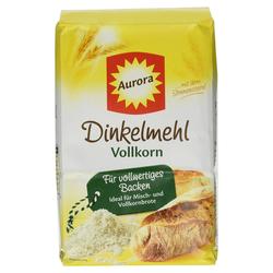 Aurora Dinkelmehl Vollkorn für vollwertiges Vollkornbrot 1000g