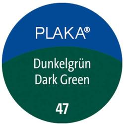 Plaka-Farbe 47 dunkelgrün 50ml