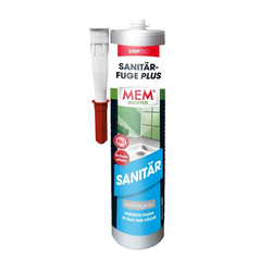 MEM Sanitär-Fuge Plus sanitärgrau, 290 ml