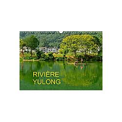 RIVIÈRE YULONG (Calendrier mural 2021 DIN A3 horizontal)