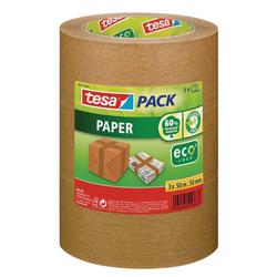 tesa Klebeband tesapack® Paper ecoLogo® (1-St) Reißfest, Umweltfreundlich, Lösungsmittelfrei
