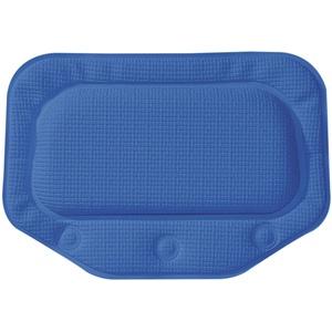 Sealskin Unilux Badewannenkissen mit Saugnäpfen, Farbe: Royalblau, Größe: 32x22 cm