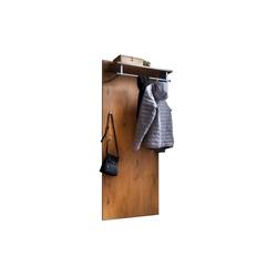 Wittenbreder Garderobenpaneel Stelvio in Wildeiche-Dekor/karamell