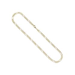 JOBO Goldkette, Figarokette 333 Gold 42 cm 2,8 mm