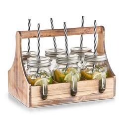 Trinkgläser-Set in Kiste Zeller
