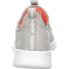 adidas Cloudfoam Pure metal grey/chalk white/signal coral 38 2/3