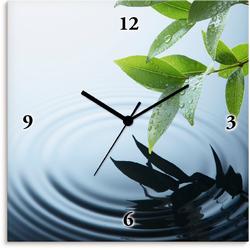 Artland Wanduhr Pflanze und Wasser