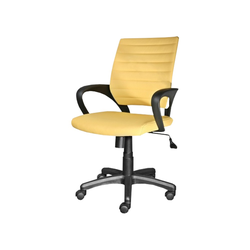 Fotel biurowy Arnum żółty