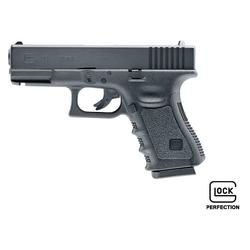 Glock 19 mit Metallschlitten CO2 Softairpistole 6mm BB schwarz
