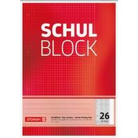 Brunnen Schulblock A4 Lineatur 26
