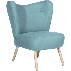 Max Winzer® Sessel Stella, im Scandinavian Design blau