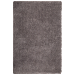 Weicher Mikrofaserteppich - Paradise (Grau; 60 x 110 cm)