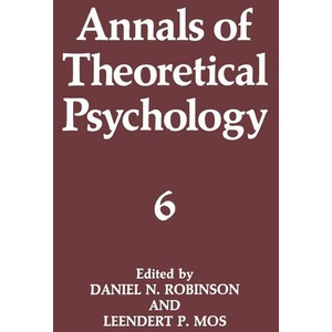 Annals of Theoretical Psychology Annals of Theoretical Psychology 6