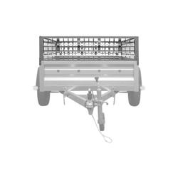 Gitteraufsatz zum PKW-Anhänger GARDEN TRAILER 236
