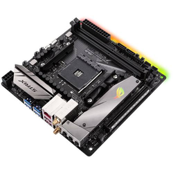 Asus ROG STRIX B350-I GAMING Mainboard Sockel AMD AM4 Formfaktor Mini-ITX Mainboard-Chipsatz AMD® B