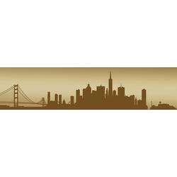 Consalnet Fototapete San Francisco - Horizont, für Küchenrückwand