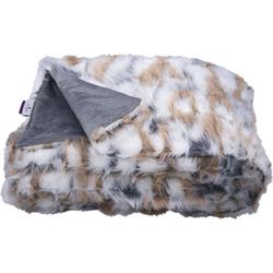 Wohndecke Cosy Fur, TOM TAILOR, in Echtfelloptik