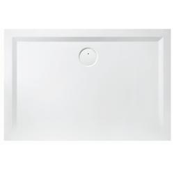 Hoesch Mineralguss-Duschwanne MUNA 900 x 700 x 30 mm weiß