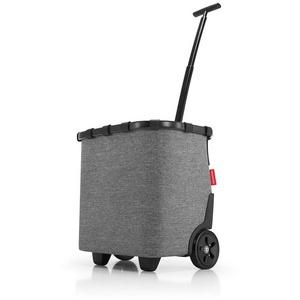 REISENTHEL® Einkaufstrolley carrycruiser, reisenthel Trolley Einkaufstrolley Einkaufswagen carrycruiser Einkaufsroller 40L grau