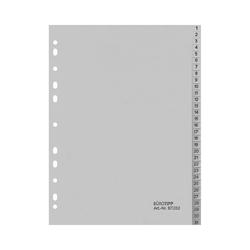 Ordnerregister A4, 1-31, 31-teilig, volle Höhe