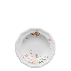 Rosenthal Suppenteller Maria Pink Rose Suppenteller 21 cm, (1 Stück)