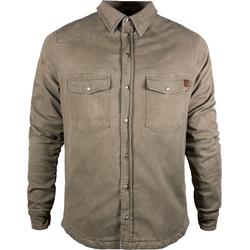 John Doe Motoshirt Basic, Hemd - Beige - XS
