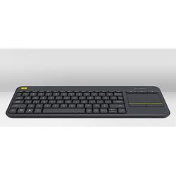 Wireless Touch Keyboard K400 Plus Black (Czech)