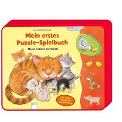 Mein erstes Puzzle-Spielbuch. Meine liebsten Tierkinder