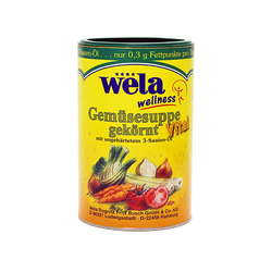 Gemüsesuppe gekörnt Vital - wela 1/1 Dose 35L