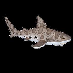 Plüschtier von Wild Republic - Leopardenhai