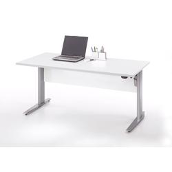 ebuy24 Schreibtisch Prisme Schreibtisch A elektronisch heben/senken We