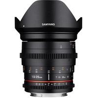 Samyang 20mm T1,9 ED AS UMC Nikon F